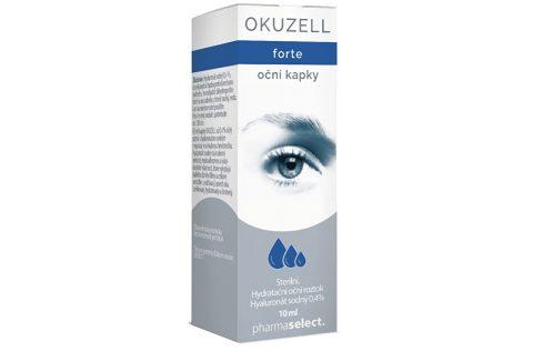 Agency MM Health OKUZELL FORTE oční kapky 10 ml Roztoky a pomůcky ke kontaktním čočkám