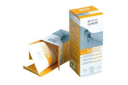 Eco Cosmetics Opalovací krém SPF 10BIO 75ml Přípravky na opalování