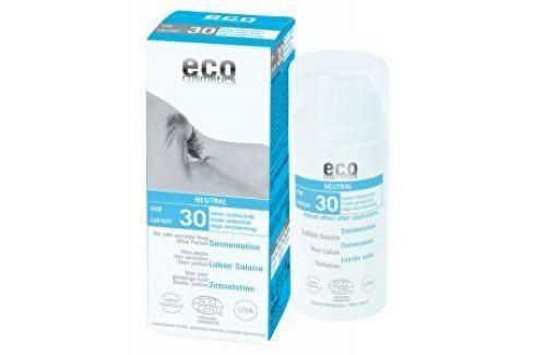 Eco Cosmetics Opalovací krém Neutral bez parfemace SPF 30BIO 100 ml Přípravky na opalování