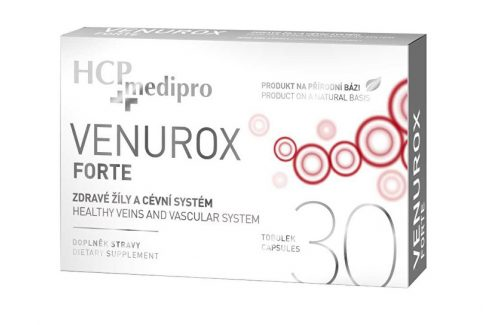 Pharma Vision Venurox Forte 30 tob. Vitamíny a minerály