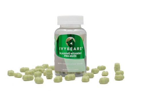 IVY Bears IVY Bears vlasové vitamíny pro muže 60 kusů Vitamíny a minerály