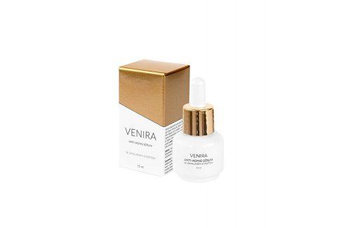 Venira VENIRA anti-aging sérum se skvalanem a peptidy 15 ml Pleťová séra a emulze