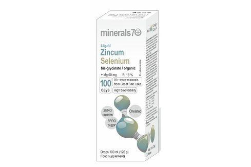 OVONEX s.r.o. Liquid Zincum/Selenium 100 ml Vitamíny a minerály