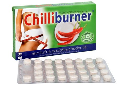 Good Nature Chilliburner 30 tbl. Doplňky stravy