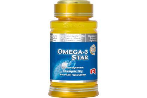STARLIFE OMEGA-3 STAR 60 tob. Doplňky stravy