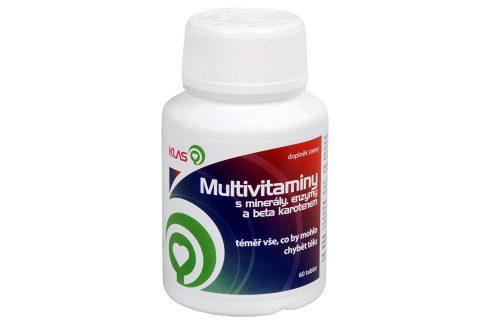 Klas Multivitamíny plus minerály a enzymy 60 tbl. Vitamíny a minerály