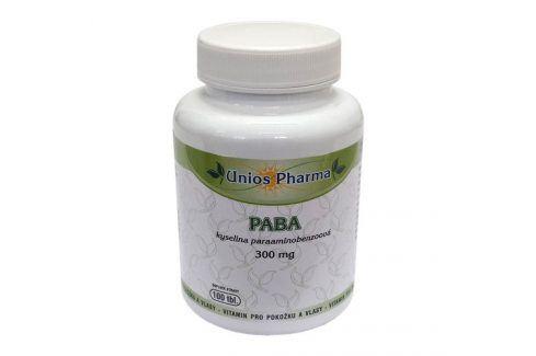 Unios Pharma PABA 100 tbl. + Beta karoten 30 tbl. ZDARMA Vitamíny a minerály