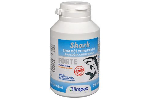 Olimpex Trading Shark - žraločí chrupavka Forte 250 tbl. Doplňky stravy