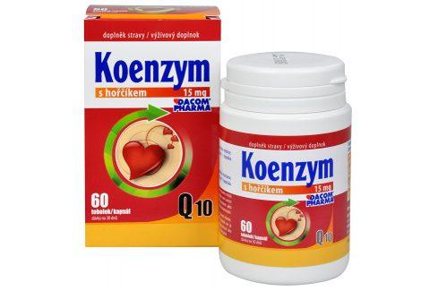 Dacom Pharma Koenzym Q10 s hořčíkem 60 tob. Doplňky stravy