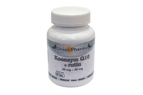 Unios Pharma Koenzym Q10 + rutin 60 kapslí Vitamíny a minerály
