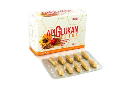 Grulich Apiglukan Extra 30 kapslí Doplňky stravy