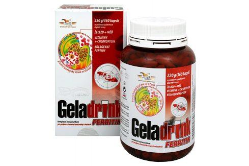Orling Geladrink Ferritin 360 kapslí Doplňky stravy
