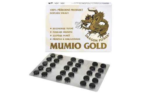Art-Dialog Dragon Power - Mumio Gold 30 tbl. Vitamíny a minerály