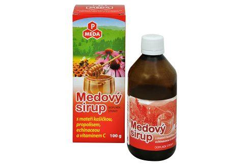 Purus Meda PM Medový sirup s mateří kašičkou, propolisem, echinaceou a vitamínem C 100 g Vitamíny a minerály