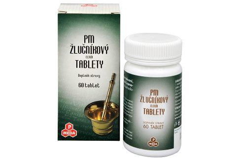 PM Žlučníkový elixír 60 tablet Vitamíny a minerály