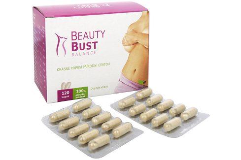 Natural Medicaments Beauty Bust Balance 120 kapslí Doplňky stravy