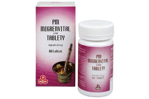 Purus Meda PM Migrenvital elixír 60 tbl. Doplňky stravy