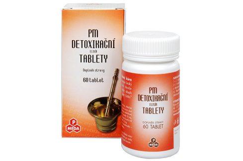 Purus Meda PM Detoxikační elixír 60 tbl. Doplňky stravy