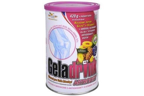Orling Geladrink Artrodiet nápoj 420 g Jahoda Doplňky stravy