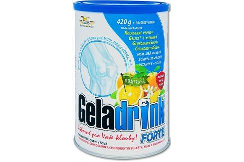 Orling Geladrink Forte nápoj 420 g Pomeranč Doplňky stravy