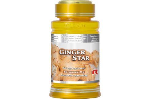 Starlife GINGER STAR 60 kapslí Doplňky stravy