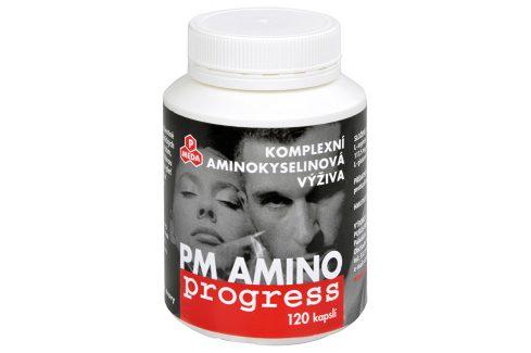 Purus Meda PM Amino Progress 120 kapslí Vitamíny a minerály