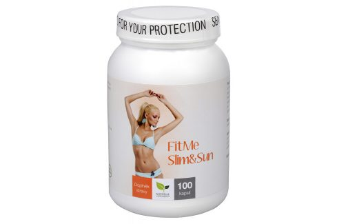 Natural Medicaments FitMe Slim & Sun 100 cps. Doplňky stravy