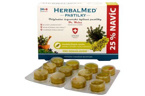 Simply You HerbalMed pastilky Dr. Weiss pro odkašlávání 24 pastilek + 6 pastilek ZDARMA Doplňky stravy