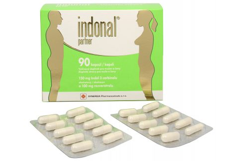 Synergia Indonal Partner 90 kapslí Doplňky stravy