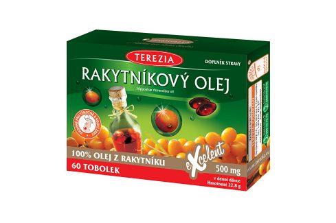 Terezia Company 100% Rakytníkový olej 50 tob. + 10 tob. ZDARMA Vitamíny a minerály