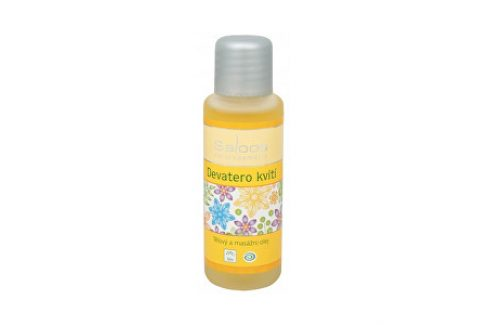 Saloos Bio tělový a masážní olej - Devatero kvítí 50 ml Pro děti