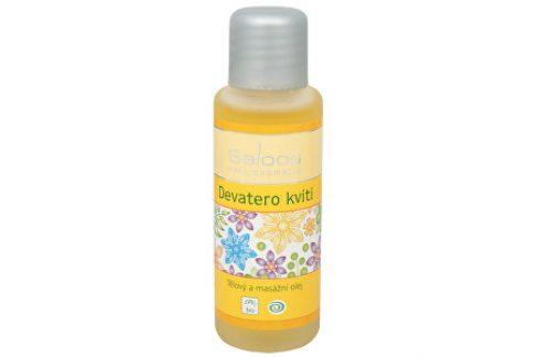 Saloos Bio tělový a masážní olej - Devatero kvítí 500 ml Tělové oleje