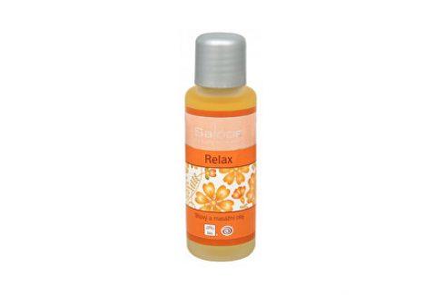 Saloos Bio tělový a masážní olej - Relax 50 ml Stres a nervozita