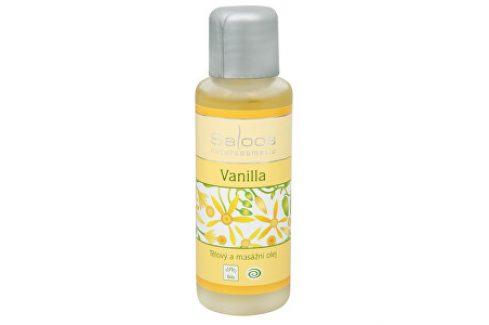 Saloos Bio tělový a masážní olej - Vanilla 50 ml Tělové oleje