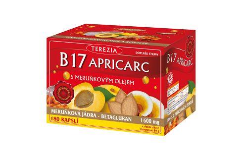 Terezia Company B17 Apricarc s meruňkovým olejem 150 kapslí + 30 kapslí ZDARMA Doplňky stravy