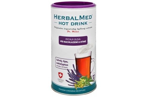 HerbalMed HotDrink Dr.Weiss nachl. rýma +vit.C 180g Vitamíny a minerály