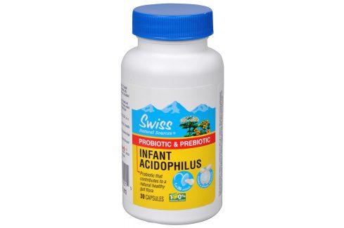 Swiss Herbal Remedies Laktobacílky Baby 30 kapslí Doplňky stravy
