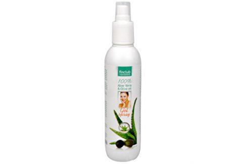 Finclub Gel spray Aloe vera & olivový olej 200 ml Vlasová regenerace