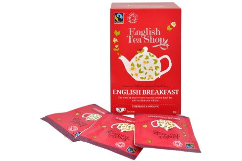 English Tea Shop Černý čaj English Breakfast 20 sáčků Čaje