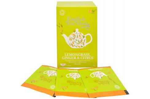 English Tea Shop Čaj Citrónová tráva, zázvor & citrusy 20 sáčků Čaje