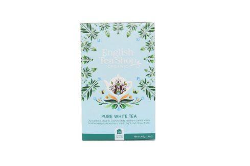 English Tea Shop Čistý bílý čaj 20 sáčků Čaje