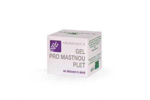 Aromedica Gel pro mastnou pleť se sklonem k akné 50 ml Přípravky na problematickou pleť