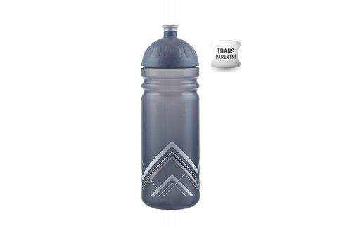 R&B Zdravá lahev 1 l BIKE Hory šedá Košíky a lahve