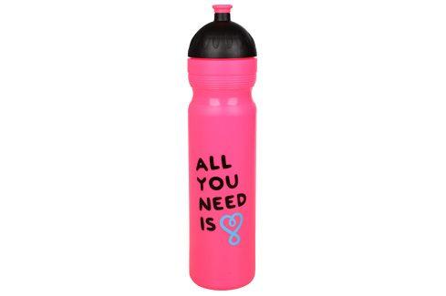 R&B Zdravá lahev 1 l UAX All You Need - růžová Košíky a lahve