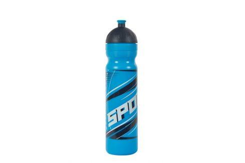 R&B Zdravá lahev 1 l Sport modrý Košíky a lahve