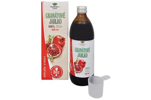 EkoMedica Czech Granátové jablko - 100% šťáva z granátového jablka 500 ml Šťávy