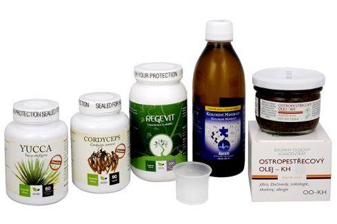 Doporučená kombinace produktů Na Únavu - Cordyceps Premium + Regevit + Koloidní minerály + Ostropestřecový olej (kaše) + Yucca Doplňky stravy
