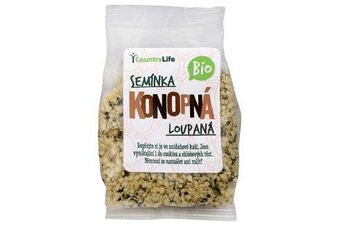 Country Life Bio Konopné semínko loupané 100 g Sušené plody, ořechy, semena