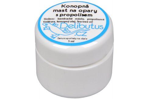 Delibutus Konopná mast na opary s propolisem 4 ml Přípravky pro péči o rty