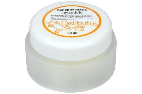 Delibutus Konopné máslo Levandule 50 ml Pleťové krémy